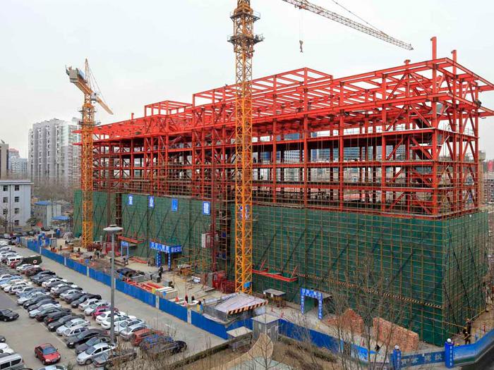 山东三维钢结构施工过程控制