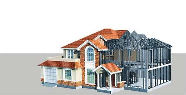 还是从设计到钢结构构件的工业化生产加工,专业钢结构设计人员的素质