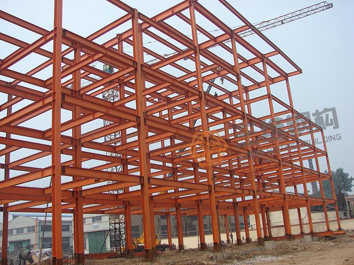 枣矿第二机械厂钢结构办公楼工程设计施工