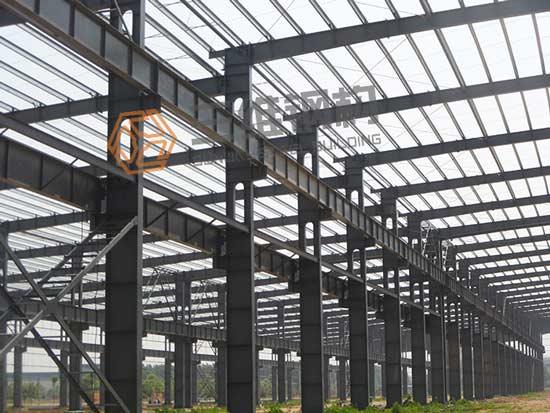 赛阳橡胶公司重钢结构厂房设计