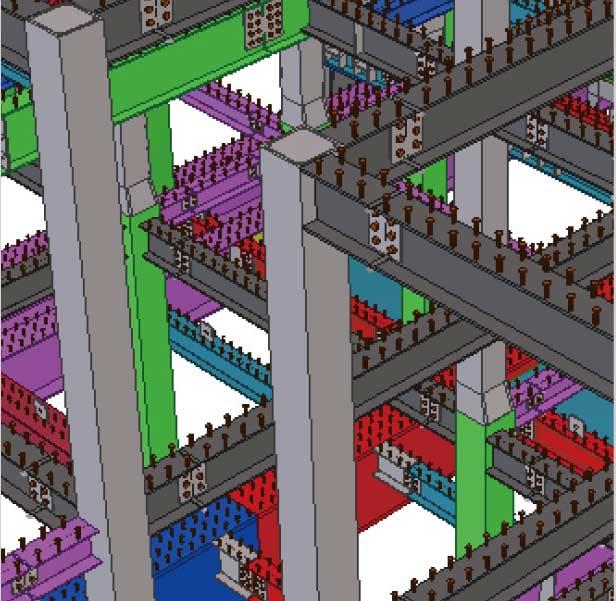 华东数控轻钢结构厂房设计