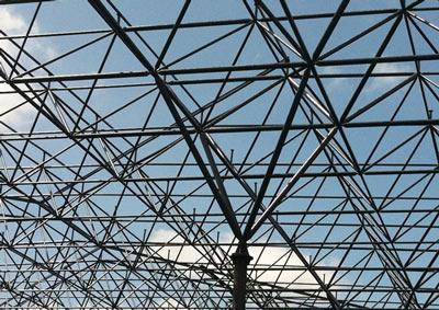 柴里矿干煤棚网架设计