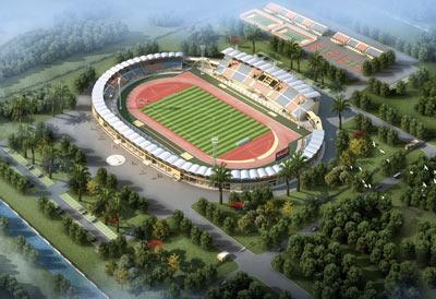 刚果(布)韦索体育场钢结构设计