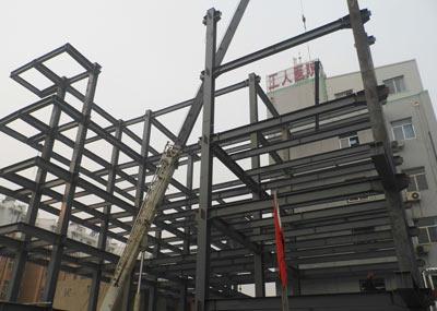 滕州医院病房楼钢结构设计施工