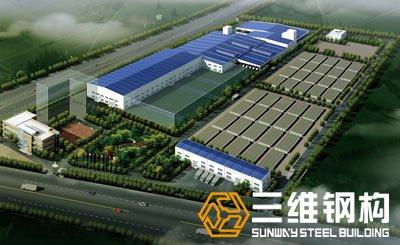 金桥盐化集团台北盐场钢结构设计工程