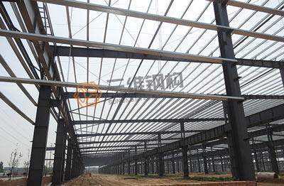 枣庄华润纸业轻钢结构设计工程