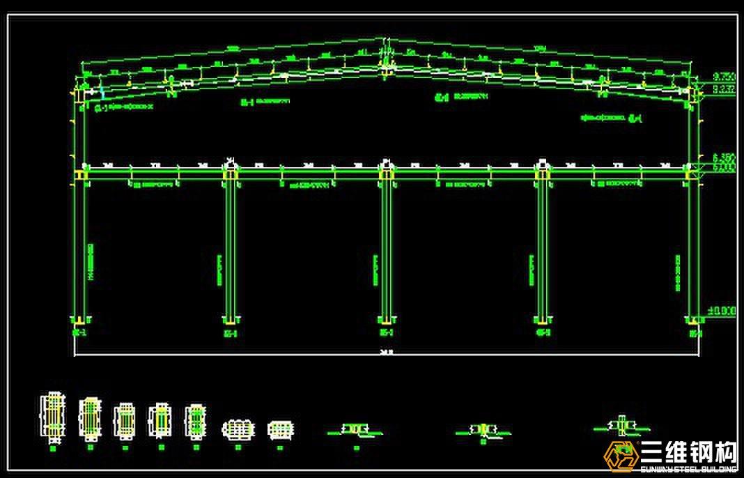 框架结构的楼层平面次梁的布置,有时可以调整其荷载传递方向以