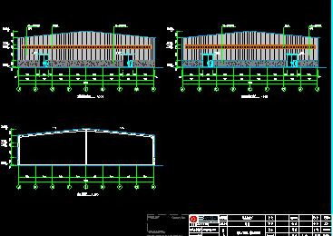 微山焦化厂门式钢结构设